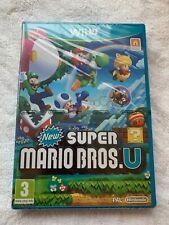 NEW SUPER MARIO BROS.U + SUPER LUIGI GAME FOR NINTENDO Wii U - SEALED