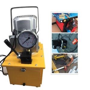 700Bar - Pompa idraulica elettrica + valvola manuale ad azione singola idraulica