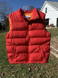 NWT Columbia Mens Down 60/40 Down Feather Puffer Vest Large