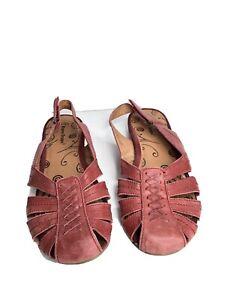 "Bare Traps ""Ready"" - Women's Black Leather Adjustable Slingback Sandals Size 9 M"