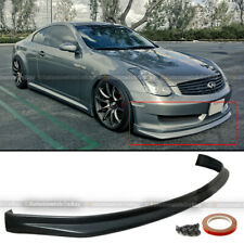Fit 03-06 G35 2Dr Coupe Illusion N1 Style Pu Front Bumper Lip Body Kit Add On (Fits: Infiniti)
