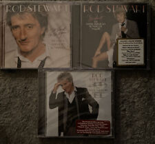 ROD STEWART THE GREAT AMERICAN SONGBOOK Vol 1, 2, 3 CD LOT NEW SEALED