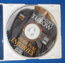 CD Audiobook Replacement Disc Only Scott Turow Personal Injuries Disc 5