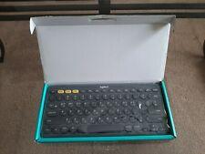 ENGLISH KOREAN Keyboard Logitech K380 Multi-Device Bluetooth - Grey (920-007594)