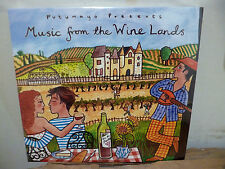 Putumayo World Music From The Wine Lands CD Music Songs Compilation New Wrapped