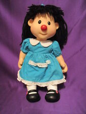"Big Comfy Couch Molly Doll  16"" 1996 Vinyl Head Arms Legs Plush Body"