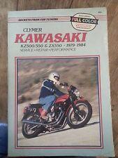 19749-1984 Kawasaki  KZ500/550& ZX550 Service Manual - NEW