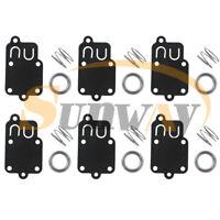 6x Carburateur Membrane Kit Pour Briggs & Stratton 270026 avec Carb Ressort