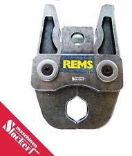 Rems Presszange, Pressbacke Viega ver. Gr. V12, V15, V18, V22, V28, V35,