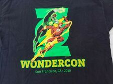Wondercon San Francisco Ca 2010 Shirt Size 2XL Graphic Tee Dc Comics Hanes