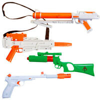Blaster Gun Fancy Dress Star Wars Movie Weapon Toy Adults Costume Accessories