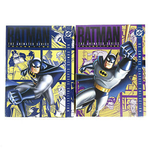 Batman The Animated Series Volume 2 and 3 Brand New Sealed Region 1