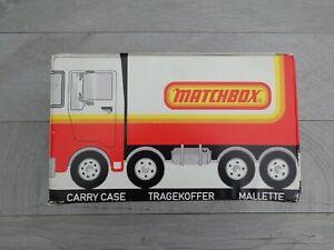 "Vintage Matchbox Lesney Superfast x36 Model Carry Case ""TRUCK"" Version VGC!"