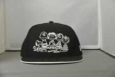 New Era Fitted Black and White Charlie Brown Peanuts - NOT AUTHENTIC