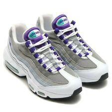 NEW Nike Air Max 95 Grape White Purple Shoes Sneakers 307960-109 Women's Size 8