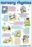 Nursery Rhyme Poster/ Educational / Popular Nursery Rhymes