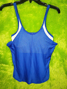 Womens Lucky In Love Vaportex Breathable Tennis Tank Top Shirt Size XS New NWOT