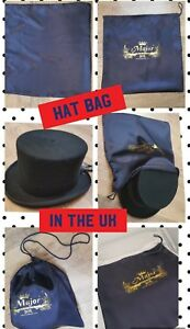 Hat Box or bag for Top Hat Luxury Hat Boxes Storage Box /Handle Major Wear in UK
