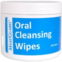 Maxi/Guard Pet Oral Cleansing Wipes 100ct
