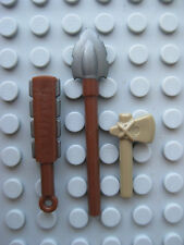 Custom TRIBAL WEAPON LOT for LEGO Minifigures Brickforge Native, Indian, Aztec