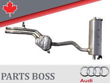 Audi Q7 3.0L V6 2017-2018 OEM Rear muffler 4M0253411H 4M0253181AN 4M0253611N