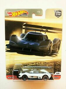 HOTWHEELS  HILL CLIMBERS  VOLKSWAGEN ID R    ALLOYS RUBBER TYRES