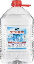 3 x 5 Litros Agua destilada Agua Agua Depósito de agua agua destilada