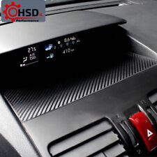 Carbon Fiber Car Instrument Panel Protective Film For Subaru XV Forester 2013-20