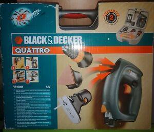 BLACK & DECKER QUATTRO TRAPANO AVVITATORE A BATTERIA  CON Batteria