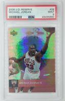 2006-07 Upper Deck UD Reserve Michael Jordan #22, Graded PSA 9, Pop 15, 18 ^
