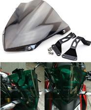Windshield Windscreen Pare-brise Smoke For Honda CB 190R CB190R 2016- 2018