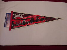 VINTAGE Chicago Bulls 1990's Full Size 29 Inch Wincraft Pennant, VERY NICE!