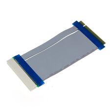 32 Bit Flexible PCI Riser Card Extender Flex Extension Ribbon Cable Perfect