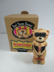 BAD TASTE BEARS - BUFFY ADULT HUMOR COLLECTIBLE FIGURINE (RGIG)