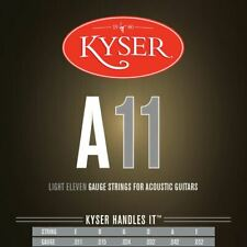 New Kyser A11 Light Acoustic Guitar Strings - 92/8 Phosphor Bronze, KA2