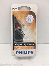 2x Philips W5W Vision - 12V, 5W - SET Standlicht, Innenbeleuchtung