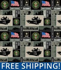 United States Army Fleece Fabric - Style# 1095 - Free Shipping!!