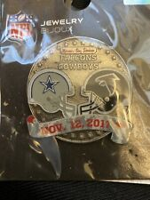 2017 Dallas Cowboys VS Atlanta Falcons 11/12/17 Game Day Pin SHIPS FREE