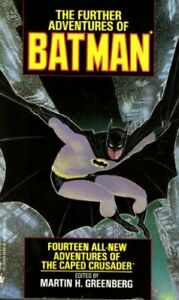 The Further Adventures of Batman Paperback Book The Cheap Fast Free Post