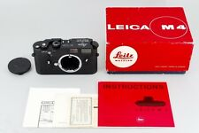 [Mint] Leica M4 50th JAHRE Anniversary Black body only Nr.141*** From Japan#479