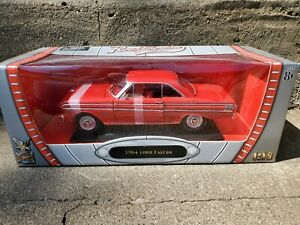 Road Signature 1964 Ford Falcon 1:18 Scale Diecast Model Car Red