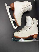 Figure Skates Riedell Silver Star-sz 4.5/John Wilson Coronation Comet Blade-9.5�