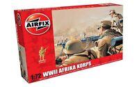 Airfix 00711 WWII German Afrika Korps Infantry 1/72 Scale Plastic Model Figures