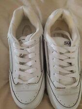 New Soda Women's White Tennis Shoes Size 10 M