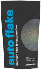 "Hemway Gun Metal Holographic Auto Car Glitter Paint Spray Metal Flake 100g .008"""