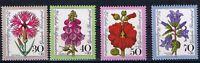 Bund MiNR 818 - 821 25 Jahre Wohlfahrtsmarken Blumen postfrisch **
