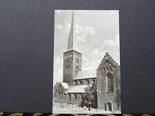 Postcard- View of the Domkirken church, Arhus, Denmark. C1950's.