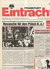 BL 84/85 Eintracht Frankfurt - Borussia Mönchengladbach