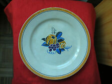 PETIT PLAT DECOR DE FRUITS  H B C M VERS 1930