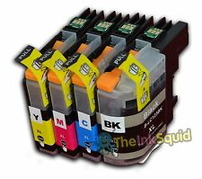 4 LC123 Ink Cartridge For Brother Printer DCP-J132W DCP-J152W DCP-J552DW non-OEM